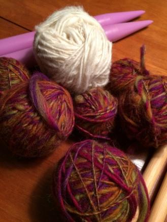 Yarn ready for weaving
