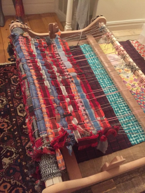 Weaving in the rags
